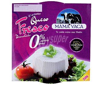 Mama Vaca Queso fresco 0% suave mama vaca 250 grs