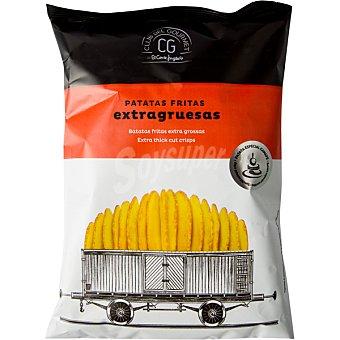 Club del gourmet Patatas fritas extragruesas bolsa 150 g bolsa 150 g