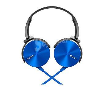 SONY MDRXB450APL.CE7 Auricular cerrado cpn cable, color azul