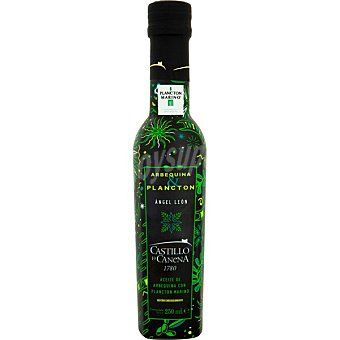 Castillo de canena Condimento de aceite de oliva virgen extra arbequina con plancton marino botella 250 ml botella 250 ml