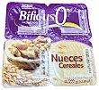Yogur bifidus desnatado nueces y cereales 4 unidades de 125 g (500 g) Hacendado