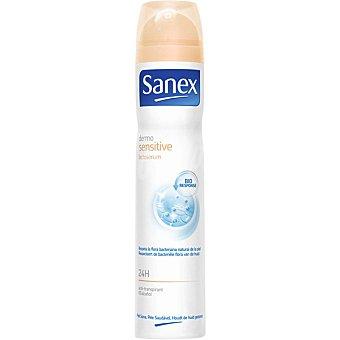 Sanex Desodorante Dermosensitive Lactoserum anti-transpirante 24h sin alcohol spray 200 ml Spray 200 ml
