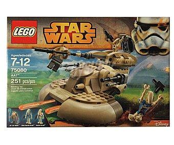 LEGO Juguete de construcción Star Wars nave aat, 251 piezas, modelo 75080 1 unidad