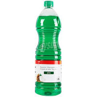 Eroski Basic Fregasuelos pino Botella 1,5 litros
