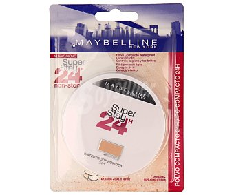 Maybelline New York Polvos compactos 24 horas Nº 048 super stay de 1unidad
