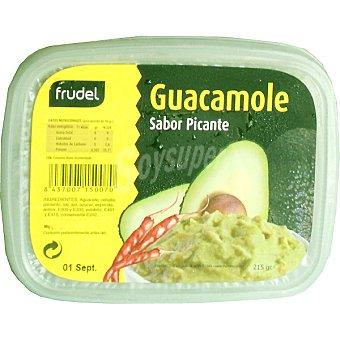 Frudel Salsa fresca de guacamole sabor picante Envase 215 g