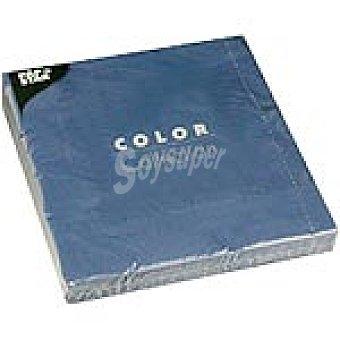 Papstar Servilletas color azul 40x40 cm Paquete 20 unidades
