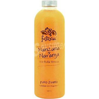 Felixia Zumo de manzana + naranja solo fruta fresca botella 1 l Botella 1 l