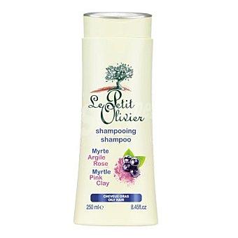 Le Petit Olivier Champú de arcilla rosa y mirto para cabello graso 250 ml