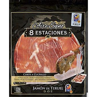 AIRE SANO 8 Estaciones jamón curado D.O.P. Teruel  bandeja 80 g