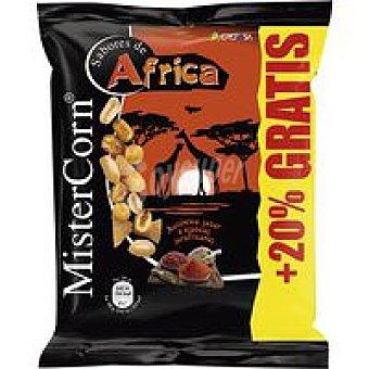 MisterCorn Grefusa Sabores del mundo de áfrica Bolsa 170 g + 20%