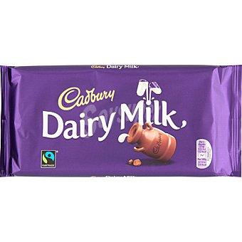 Cadbury Chocolate con leche Dairy Milk tableta 200 g