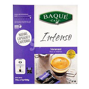 Baqué Café intenso capsulas 14 ud