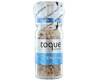 TOQUE ESPECIAL Sazonador de sal y hierbas ideal para realzar todos los sabores 78 gramos