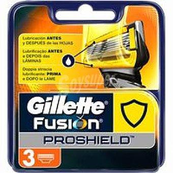 Gillette Cargador de afeitar Pack 3 uds