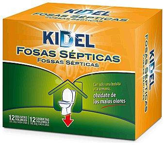 Kidel Fosa séptica Caja 12 unid