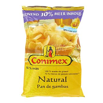 Conimex Pan de gambas sabor natural sanck bolsa 60 g