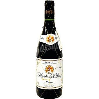Señorío del Bierzo Vino tinto reserva D.O. Bierzo Botella 75 cl