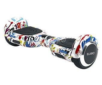 """Bluoko Hoverboard o scooter de autoequilibrio eléctrico con motor de dual de 700w, rueda de 16,51cm. (6,5""""), multicolor , B1 APP bluoko"""