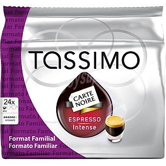 Tassimo Café espresso intenso cápsulas Carte Noire 24 capsulas (168 gramos)