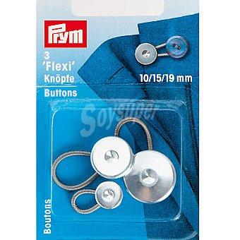 PRYM Estuche 3 botones flexi de 10 15 y 19 mm