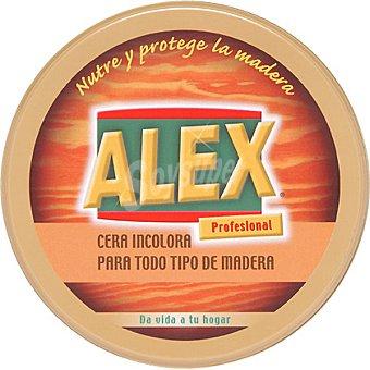 Alex Limpia muebles cera incolora solida Lata 500 ml