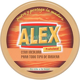 Alex Cera Incolora para todo tipo de madera 250 ml