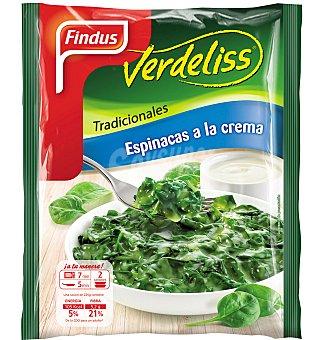Espinacas verdeliss a la crema 450 GRS