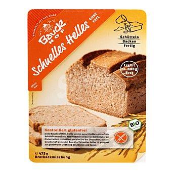 Bauck Hof Preparado de pan blanco horneado sin gluten y sin lactosa 475 g