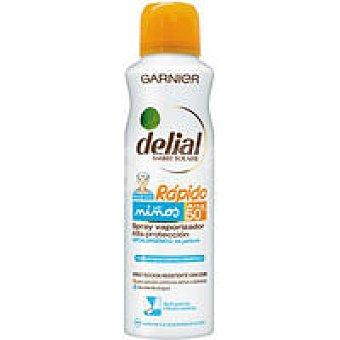 Delial Garnier Crema solar rápida FP50 Spray 150 ml