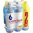 Agua mineral natural de Galicia sin gas + 2 botellas gratis Pack 4 botellas 2 l Cabreiroá