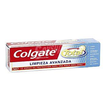 Colgate Total Dentífrico limpieza total avanzada Tubo 75 ml