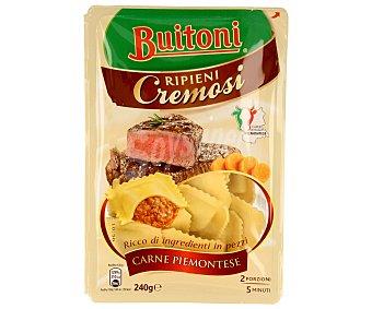 Buitoni Ravioli rellenos de carne piamontese Envase 240 g