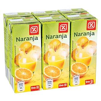 DIA Nectar naranja pack 6 briks 20 cl Pack 6 briks 20 cl
