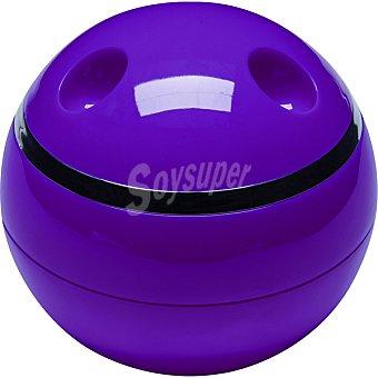 QUO Caja organizadora con tapa en color morado