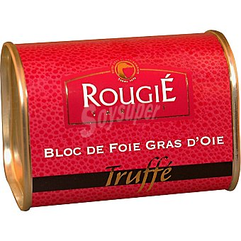 ROUGIE Bloc de foie gras de oca trufado Lata 145 g