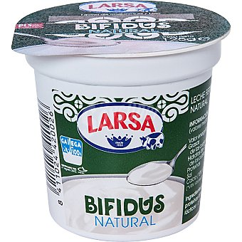 Larsa Bífidus yogur natural Pack 4 envase 125 g