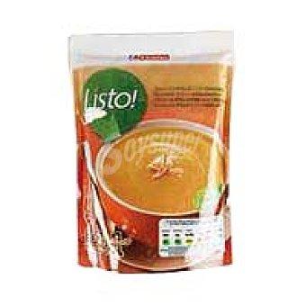 Eroski Crema de pollo con verduras Brik 330 ml