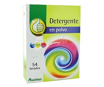 Productos Económicos Alcampo Detergente en polvo para lavadora 54 lavados