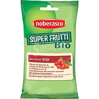 Noberasco Super Frutti Bio bayas de Goji con toque de regaliz y te favorece el sistema inmunitario envase 33 g Envase 33 g