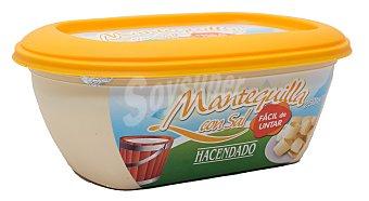 Hacendado Mantequilla con sal facil untar Tarrina 250 g