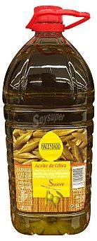 HACENDADO Aceite de oliva sabor suave (tapón rojo) Garrafa de 5 l