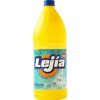 Aliada Lejía amarilla Botella 2 l