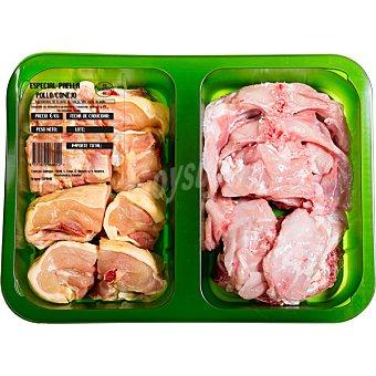 Cogal Preparado de conejo y pollo para paella peso aproximado  bandeja 600 g