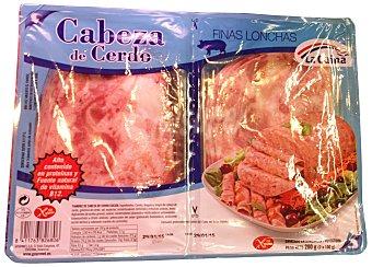 La Cuina Fiambre cabeza cerdo lonchas Paquete 200 g
