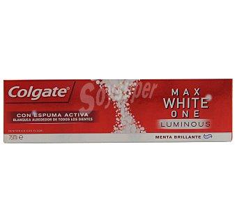 Colgate Max White Pasta de dientes con flúor, acción blanqueante y sabor a menta 75 ml