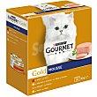 Gourmet Gold Multipack Mousses surtidos 4 sabores 8 unidades
