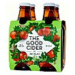 Sidra sin alcohol Pack de 4 botellas de 25 cl The Good Cider