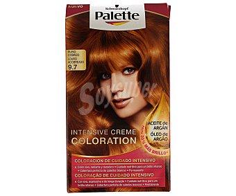 Palette Schwarzkopf Tinte Intensive Creme Coloration 9.7 Rubio Cobrizo 1 unidad