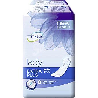Tena Lady Compresa de incontinencia extra plus Bolsa 8 unidades